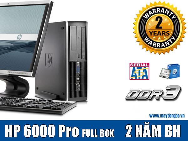 Máy đồng bộ HP compaq 6000 Pro, Intel Chipset Q43 nhập khẩu