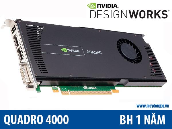 Quadro 4000, bán vga Nvidia Quadro 4000 cho đồ họa ở Hà nội